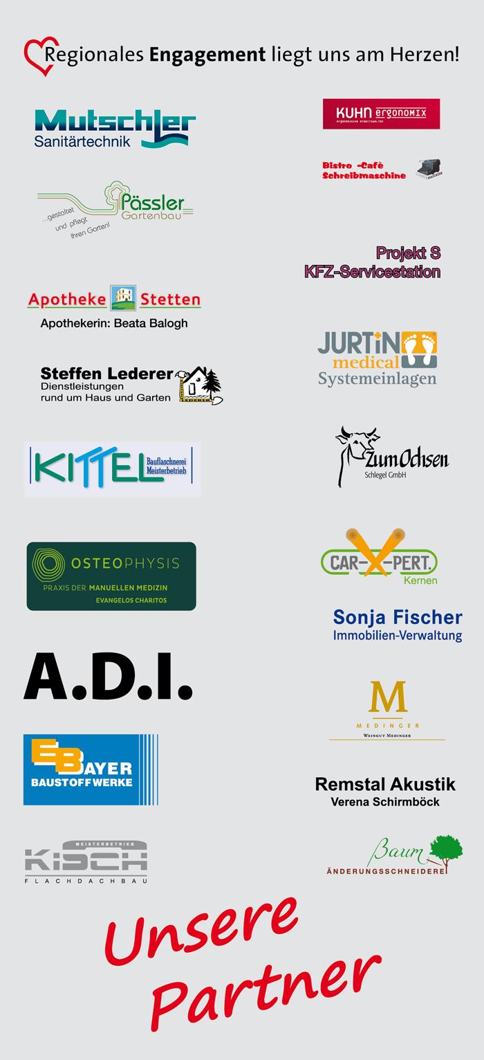 Werbepartner und Sponsoren