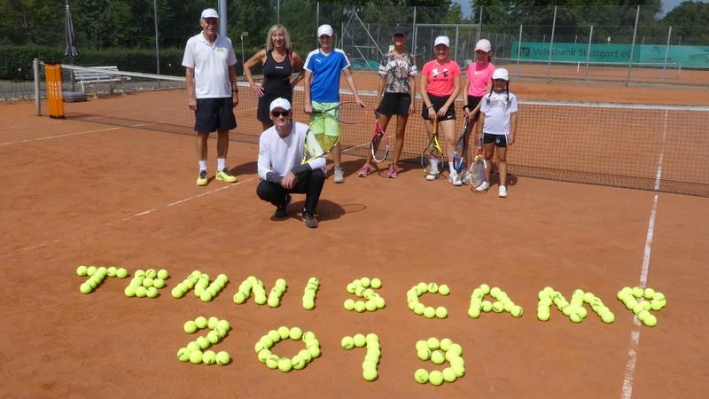 Tenniscamp Kinder und Jugendliche beim TC Stetten i.R 2019