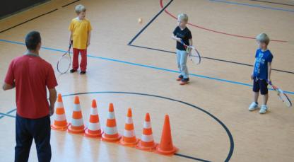 Kooperation Kindergarten Tennisverein